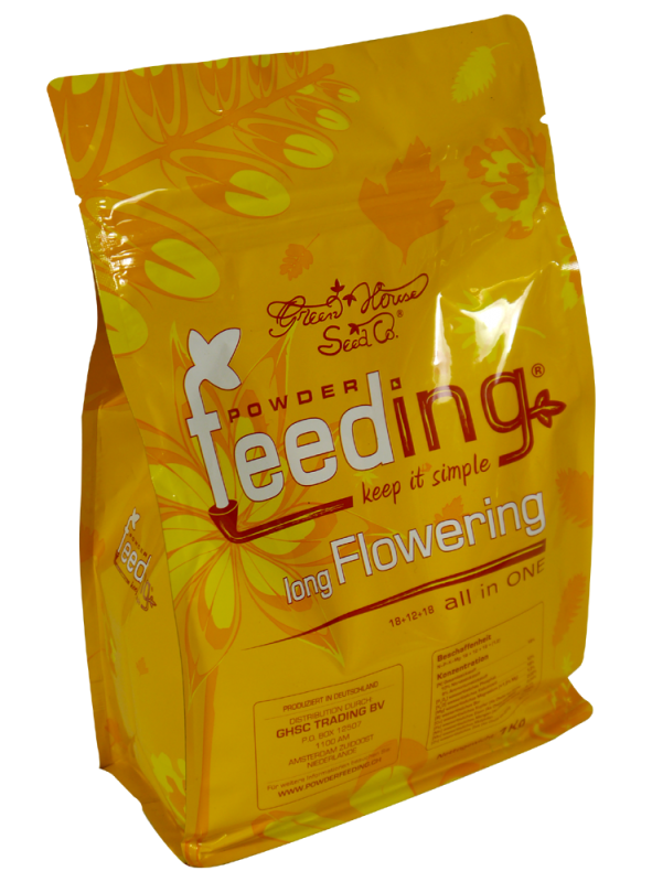 Powder Feeding Long Flowering 2,5 кг удобрение для культур длительного цветения  2,5 кг