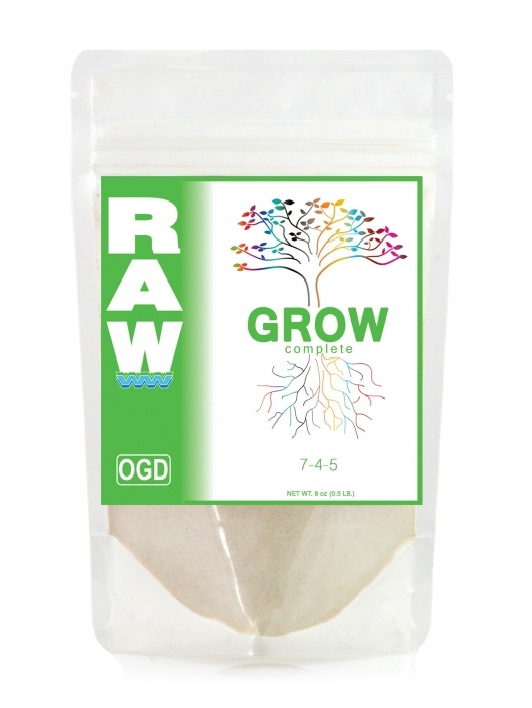 RAW GROW Complete 907 г Все в 1-м на стадию вегетации 907 гр